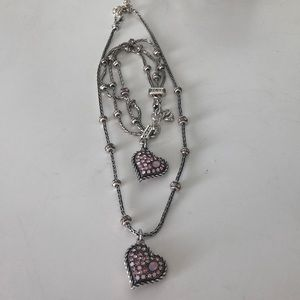 Brighton Heart Necklace and Bracelet Set